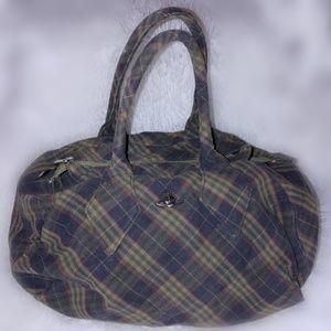 Vivienne Westwood Tartan Plaid Handbag Purse